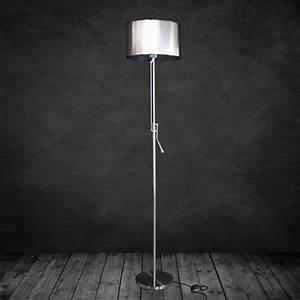 Stehlampe Grauer Schirm : design stehleuchte stehlampe wohnzimmer lampe leuchte standleuchte ebay ~ Indierocktalk.com Haus und Dekorationen