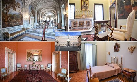luxurious papal apartments  pope francis refused
