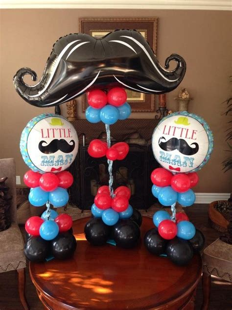 mustache balloon decor google search joeys bday