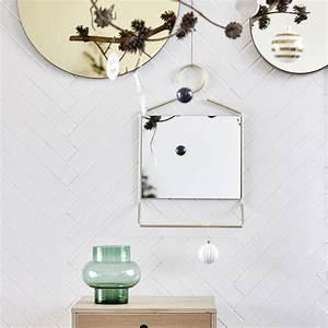 House Doctor Papiersterne : spegel hang 50 cm m ssing house doctor ~ Michelbontemps.com Haus und Dekorationen