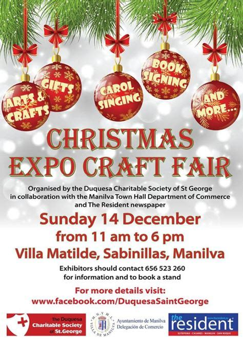 christmas craft fair in sabinillas