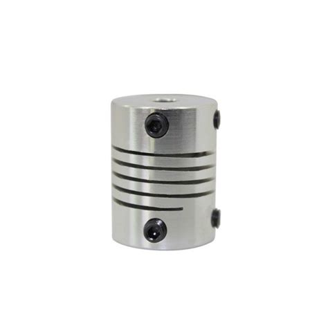 dl flexible shaft coupling cnc stepper motor coupler connector  mm veg