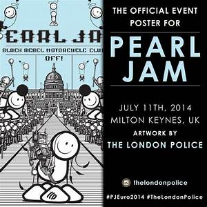 "Pearl Jam on Twitter: ""The 1st poster for today's Milton ..."