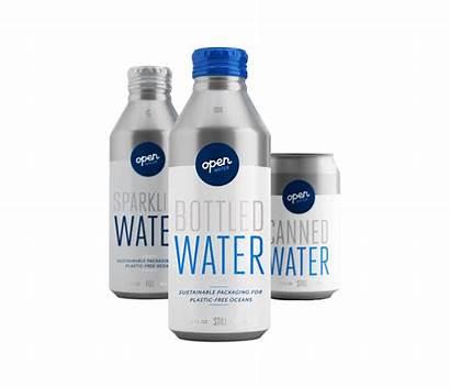 Plastic Water Bottles Packaging Open Package Sheep