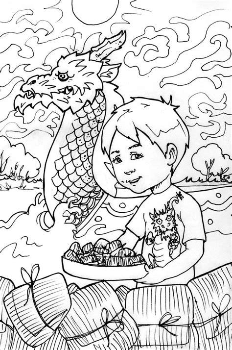 dragon boat festival coloring sheet dragonboatfestival  coloring pages dragon boat