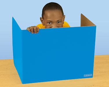 cardboard privacy screens for desks fundraiser by kari lochrie help me build my classroom