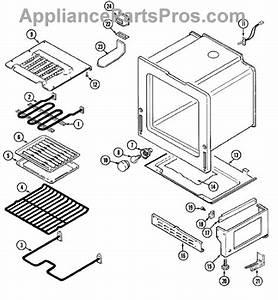 Parts For Magic Chef 3868vvv  Oven    Base Parts