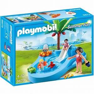 playmobil summer fun le parc aquatique achat vente With playmobil piscine avec toboggan pas cher
