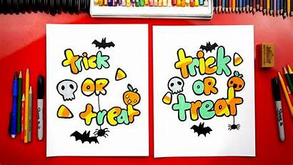 Draw Trick Treat Hub Candy Fun