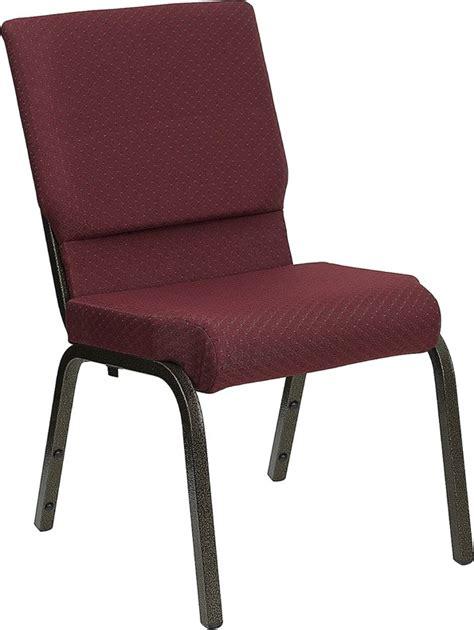 18 5 w burgundy patterned hercules church chair gold