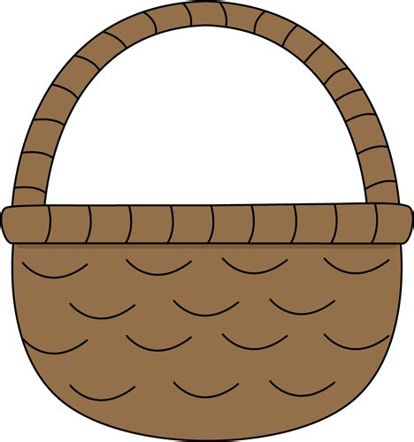 Empty basket royalty free vector image. Clipart Panda - Free Clipart Images