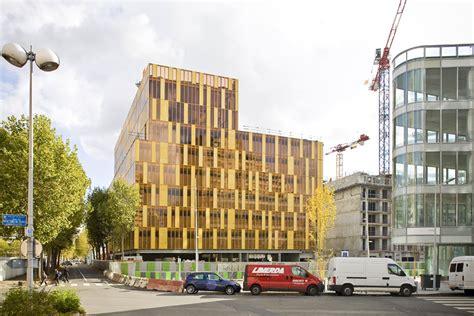immeuble de bureaux dominique perrault architecture immeuble de bureaux
