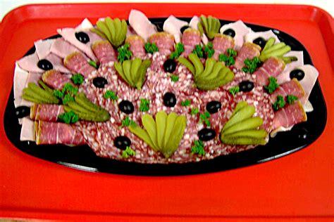 plat de charcuterie decoration buffet froid boucherie charcuterie et traiteur sur genay