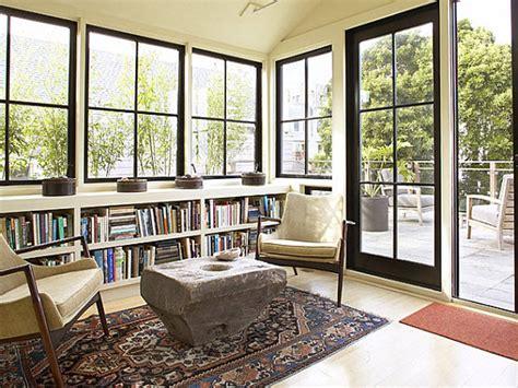 Modern Sunroom Sun Room Windows With Black Sunroom Window