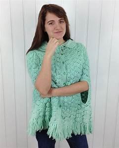 Vintage Adult Shell Cape Pattern  U2013 Maggie U0026 39 S Crochet