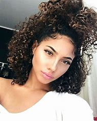 Natural Hairstyles for Curly Hair Girls