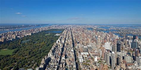 Views From Top Of 432 Park Avenue