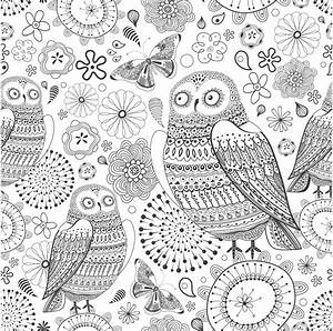 Free Adult Art Therapy Coloring Pages