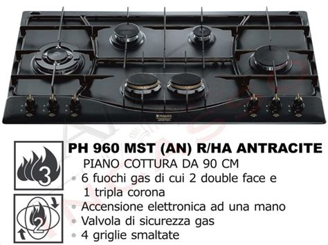 piano cottura ariston 90 piano cottura incasso cucina hotpoint ariston cm 90