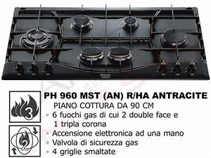Piano Cottura Hotpoint Ariston Gas 6 Fuochi 90 Cm Ph 960mst An Rha ...