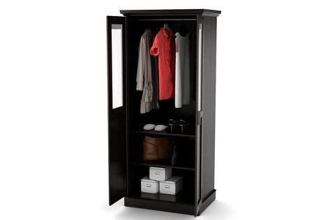 storage cabinets walmart canada home trends glass door wardrobe multi purpose storage