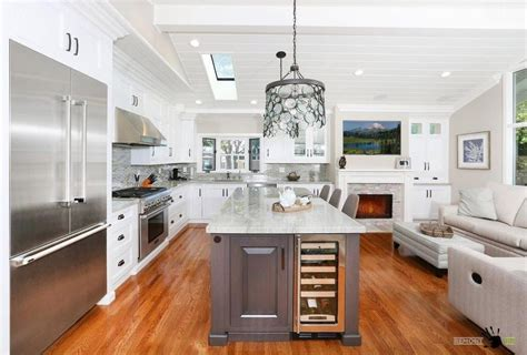kitchen island space smart ideas of kitchen and living room in one place
