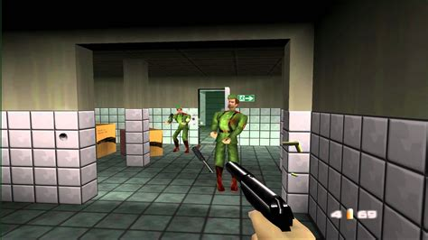 goldeneye nintendo wanted bond  shake hands