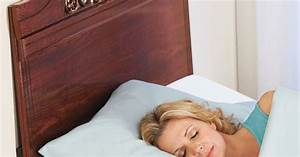 keep pillows from falling through the gap between your With bed wedge to keep pillows from falling