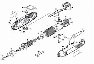Dremel 4000  F013400001  Parts List