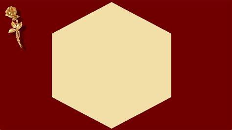 origami faire  hexagone en papier youtube
