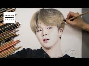 Drawings of Jimin From BTS