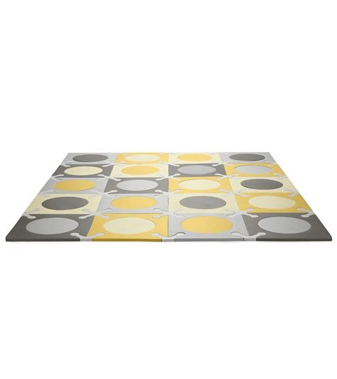 Skip Hop Foam Tiles Toxic by Skip Hop Playspot Interlocking Foam Tiles In Gold Grey