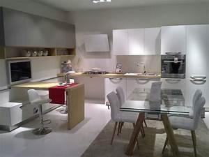 Cucine Moderne Con Bancone YS22 Regardsdefemmes