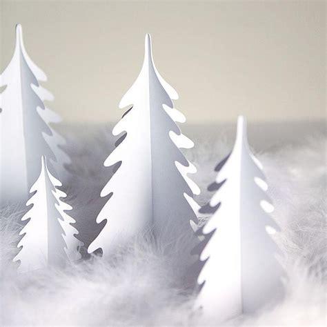 christmas village trees silhouette template 125 best no 235 l en papier images on pinterest boxes