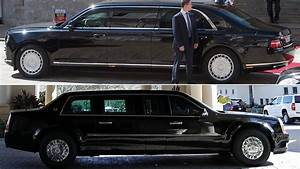 Putin39s Aurus Senat Vs Trump39s Beast How Do Cars 1 Fare PHOTO VIDEO RT World News