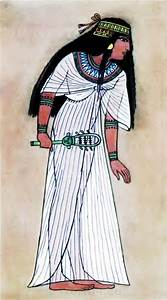 Ancient Egypt Queen Thuthu costume. How to wear ancient ...