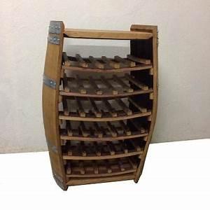 Casier Bouteille De Vin : casier vin tonneau pr sentoir range bouteille vin ~ Teatrodelosmanantiales.com Idées de Décoration
