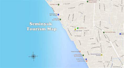 seminyak map discovery seminyak area bali travel guides