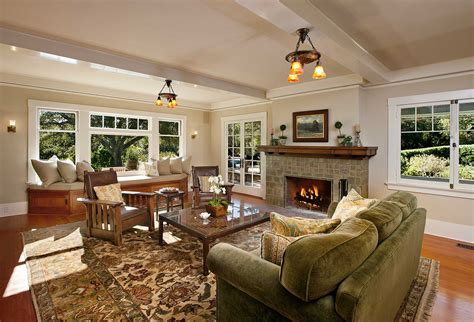 Craftsman Style Interiors For Home Inspiration  Designoursign