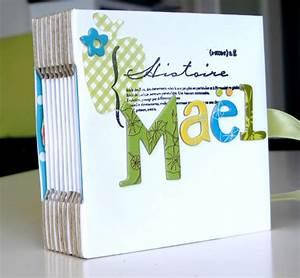 Album Photo Naissance Fille : album naissance scrapbooking tuto ~ Dallasstarsshop.com Idées de Décoration