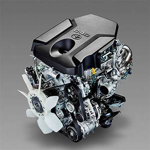 Toyota U0026 39 S Revamped Turbo Diesel Engines Offer More Torque