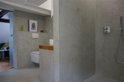 Beton Mineral Dusche by Fugenlose Design B 246 Den Fugenloser Putz Im Bad Beton Cire