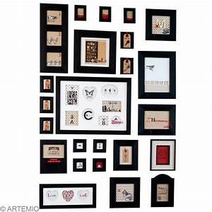 Créer Un Cadre Photo : cr er un mur de cadres id es et conseils home d co cadre tableau ~ Melissatoandfro.com Idées de Décoration