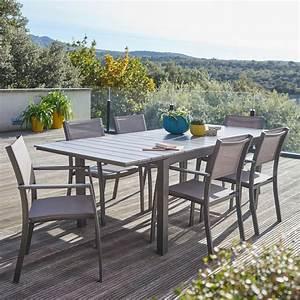 Table De Jardin Solde : magasin salon de jardin table exterieur resine maisonjoffrois ~ Teatrodelosmanantiales.com Idées de Décoration