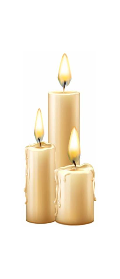 Transparent Candles Lighted Clipart Halloween Yopriceville