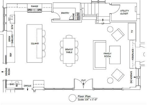 kitchen floor plan ideas the gray kitchen design ideas home bunch