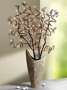 Korkenzieherhasel Deko Ideen : lichterbaum korkenzieherhasel dekoideen diy und wood ~ Yasmunasinghe.com Haus und Dekorationen