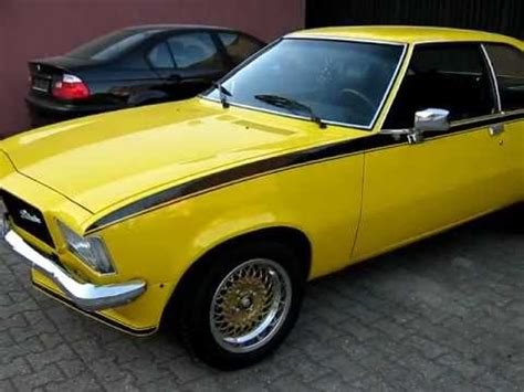 Opel Coupe by Opel Rekord D Coupe 2 0s Bj 1975