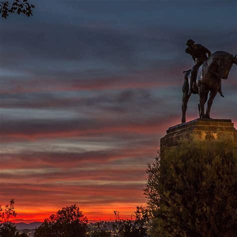 Free photo: barcelona, montjuic, sunset, plaza españa ...