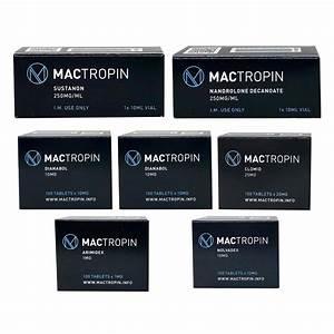 Pack Bulking - Mactropin - Sustanon  Deca-durabolin  Dianabol  8 Weeks